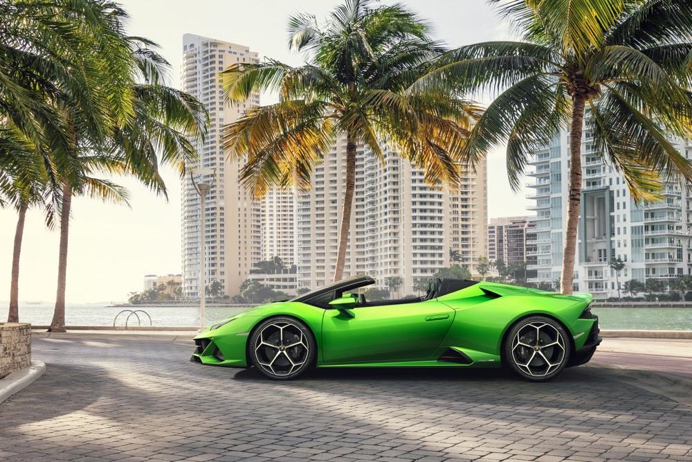 Prestazioni di Lamborghini Huracan Evo Spyder