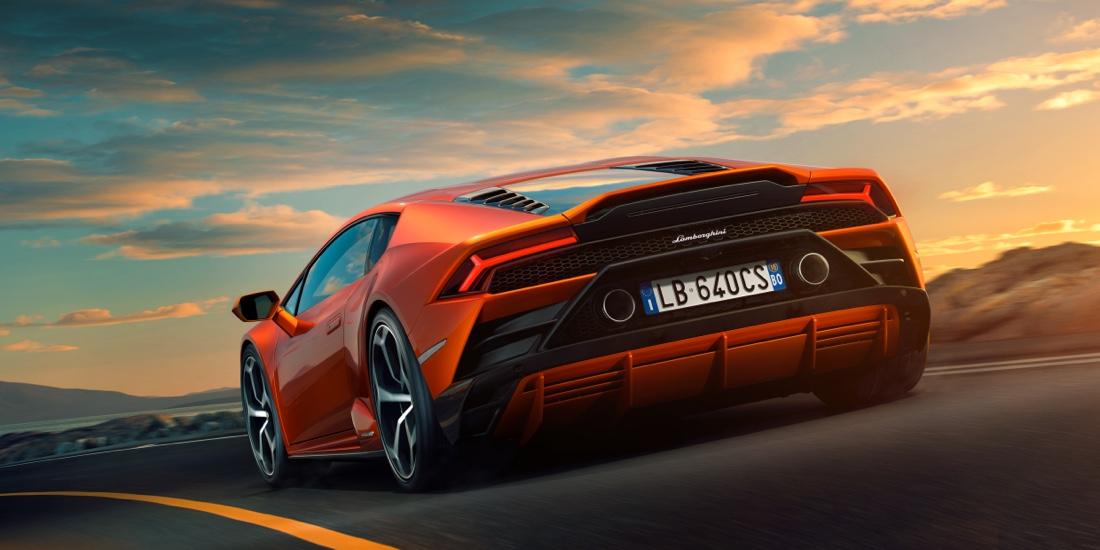 Diffusore di Lamborghini Huracan Evo