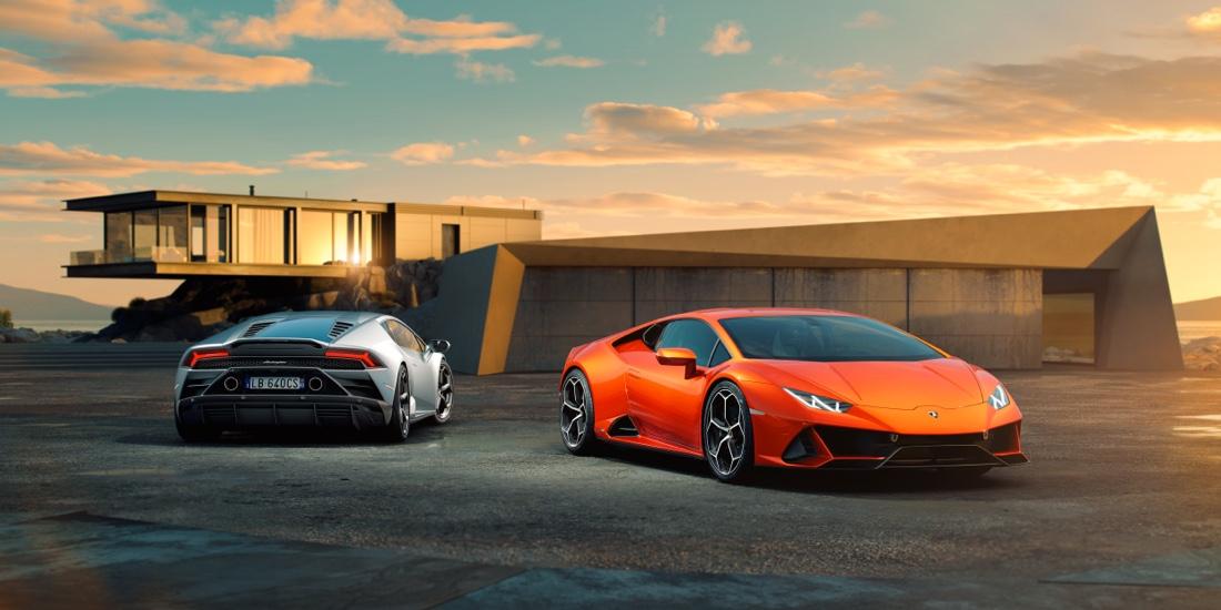 Motore di Lamborghini Huracan Evo