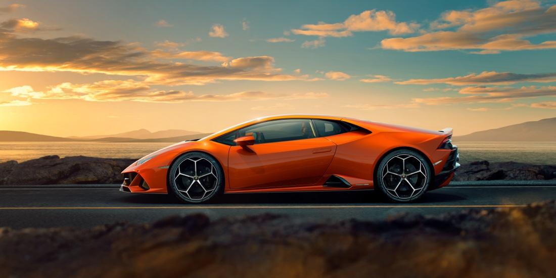 Uscita di Lamborghini Huracan Evo