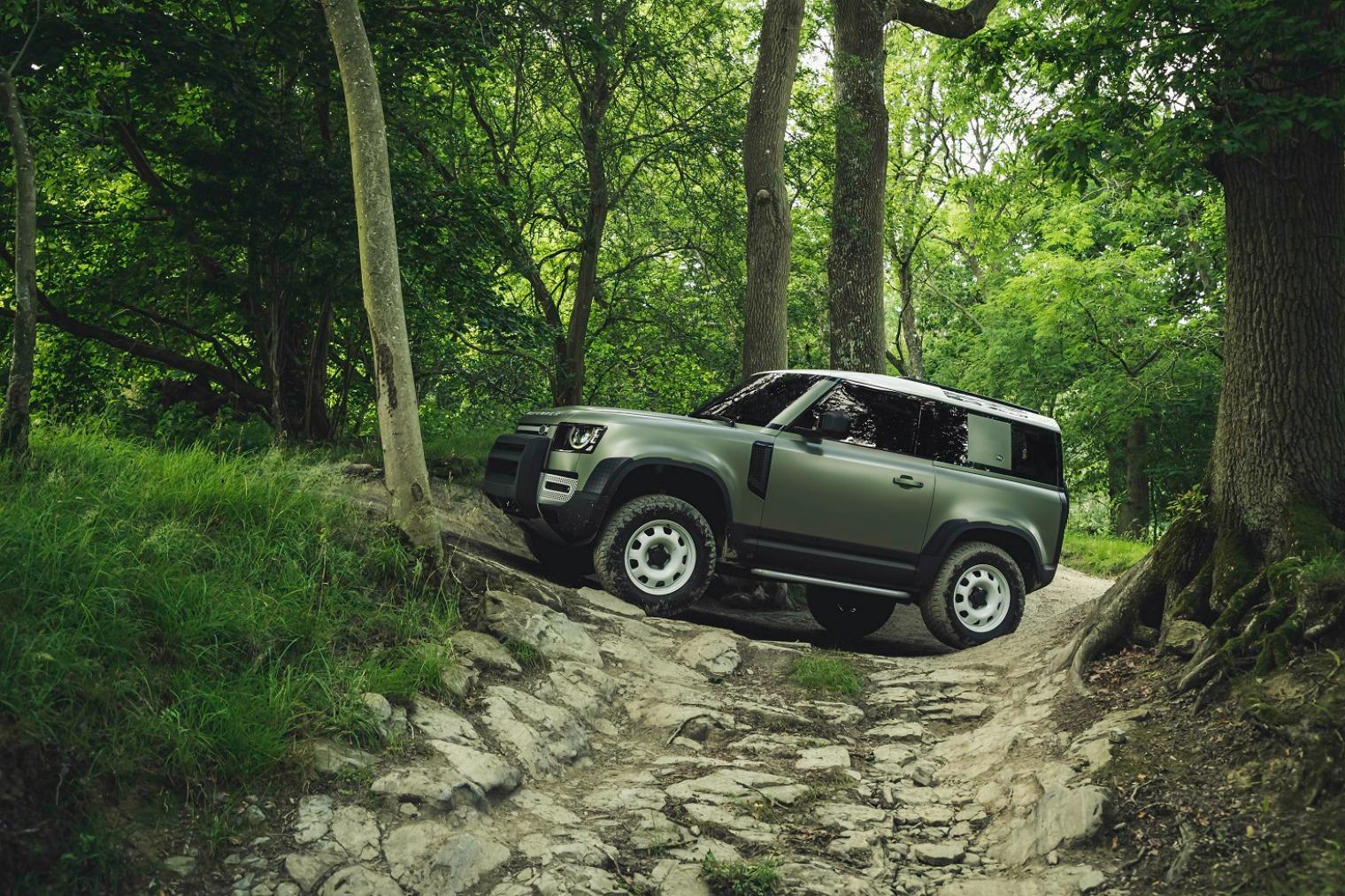 Tecnologia nuova Land Rover Defender