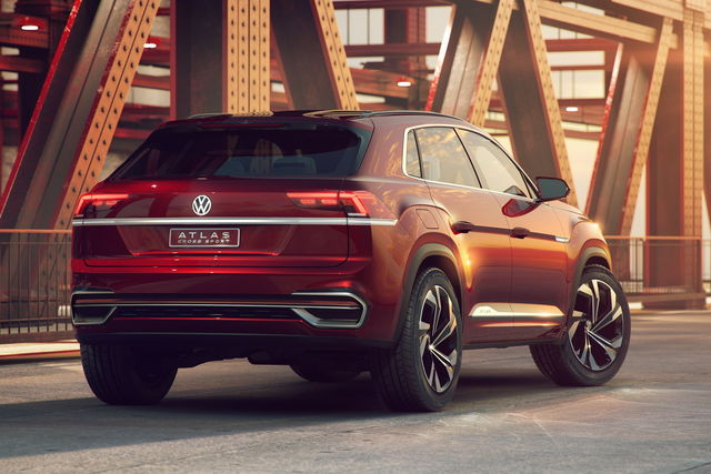Volkswagen Atlas Cross Sport posteriore
