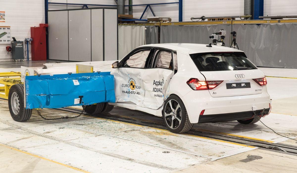 Nuova Audi A1 auto sicura