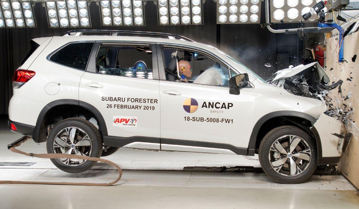 Subaru Forester auto sicura
