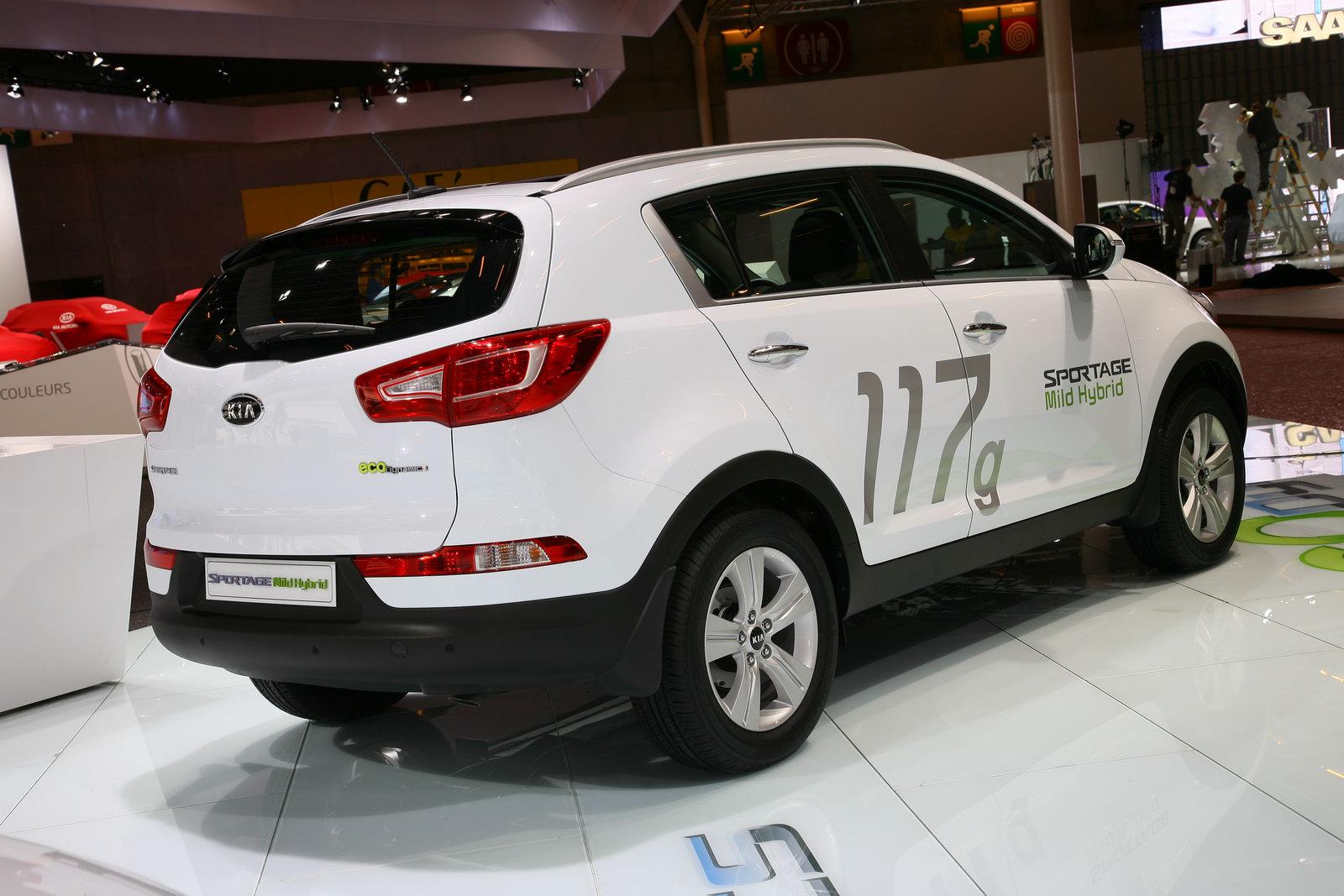 nuova Kia Sportage Mild Hybrid