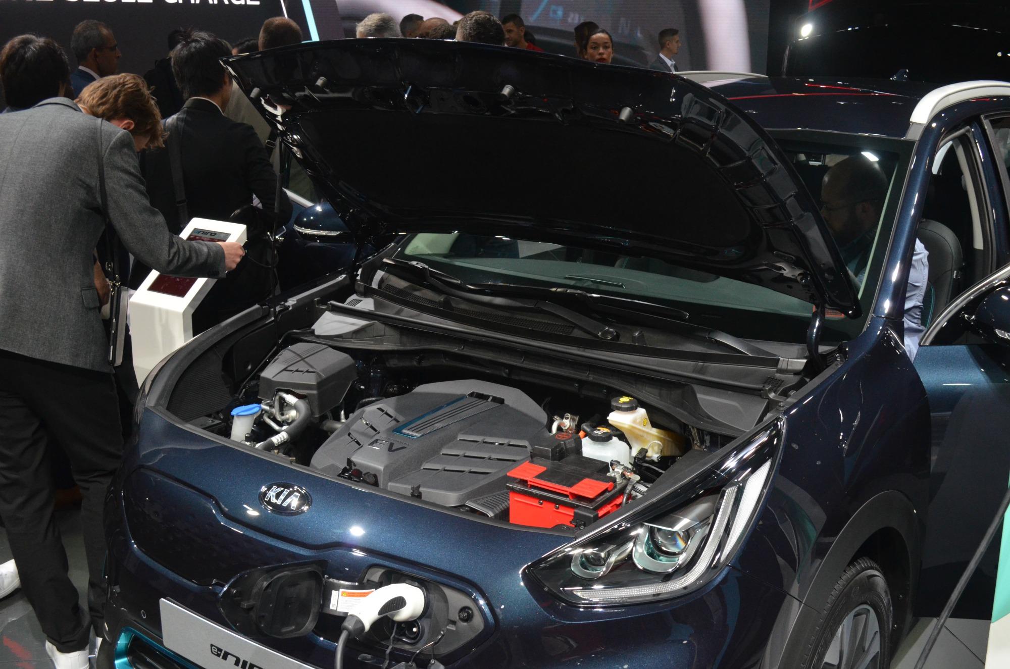 Motore nuova Kia e-Niro