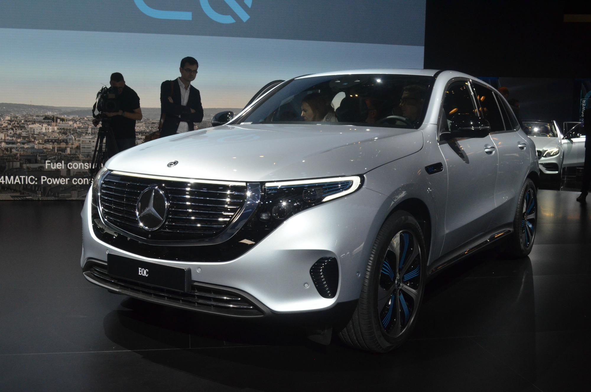 Nuova Mercedes EQC
