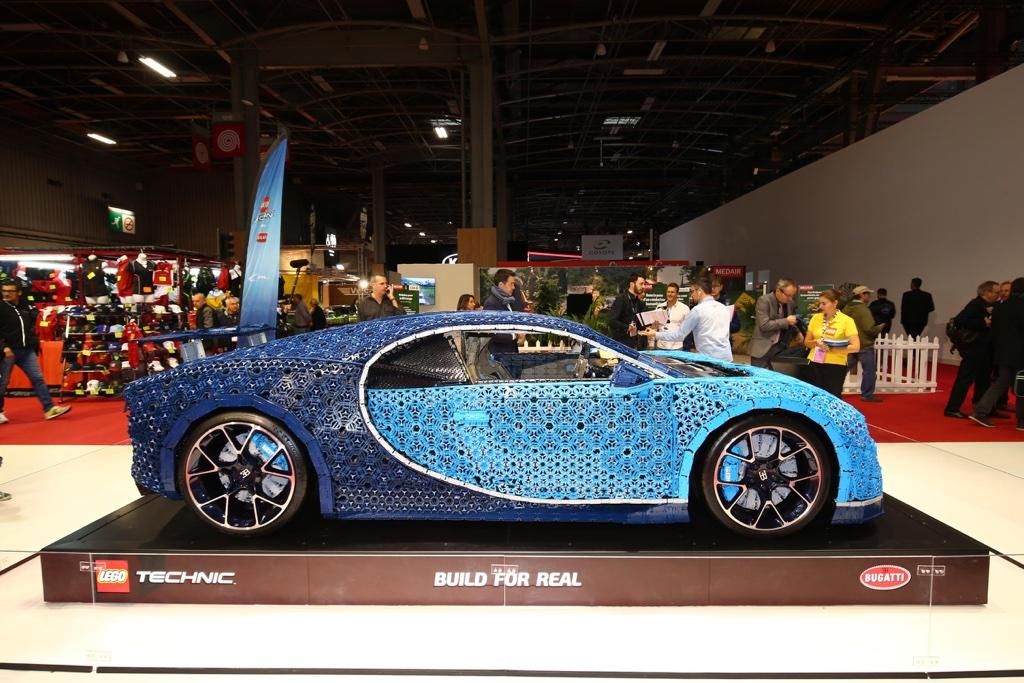 Caratteristiche di Bugatti Chiron Lego al Salone di Parigi 2018