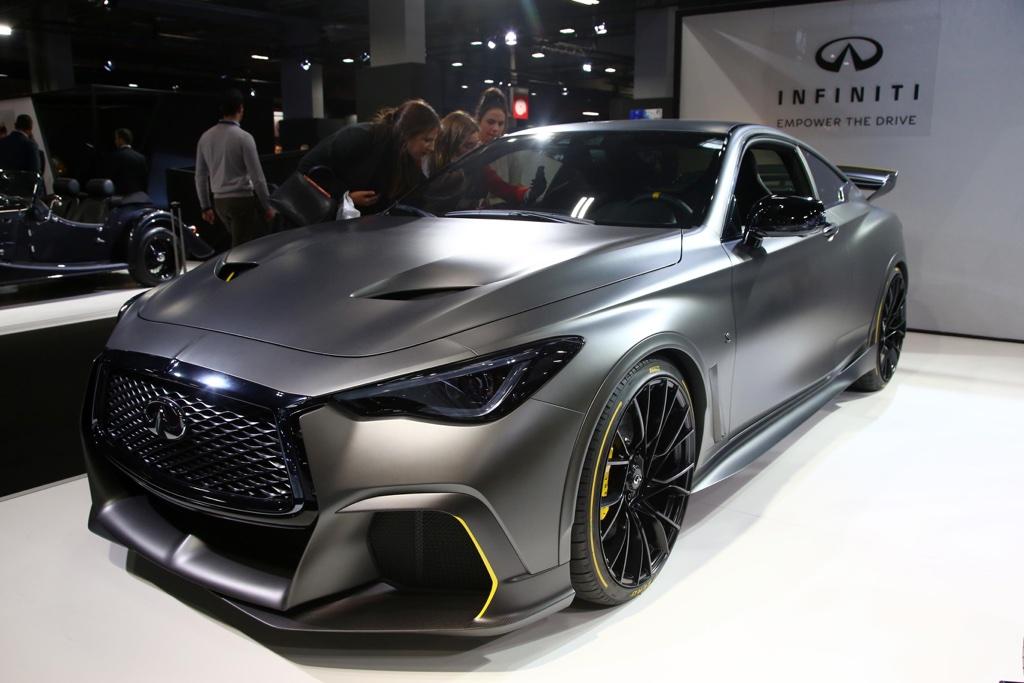 Sistema F1 di Infiniti Black Project S al Salone di Parigi 2018
