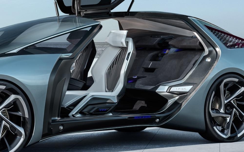 Caratteristiche di Lexus LF-30 Electrified
