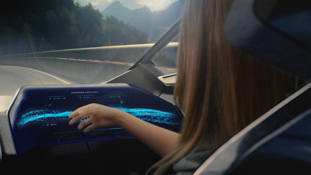 Gesture su Lexus LF-30 Electrified