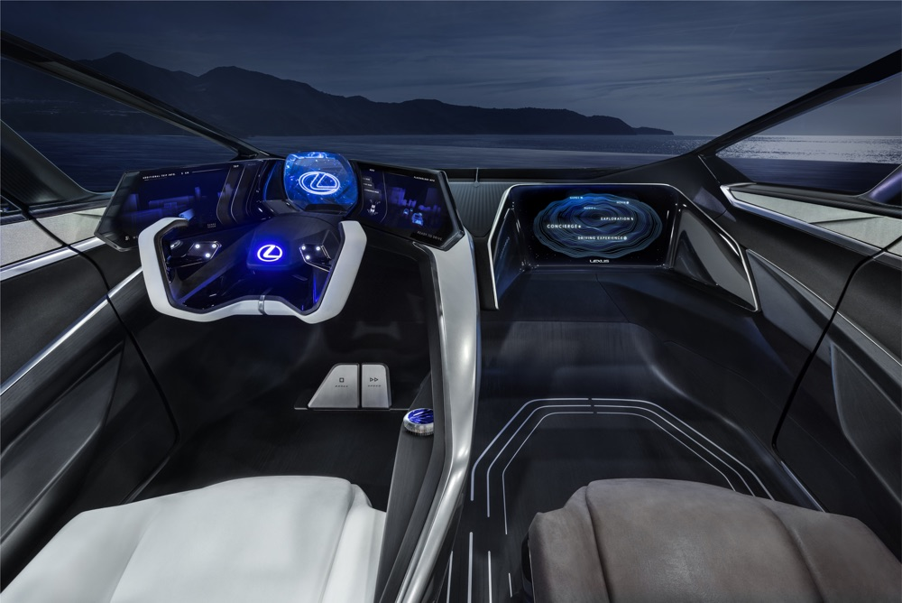 Interni di Lexus LF-30 Electrified