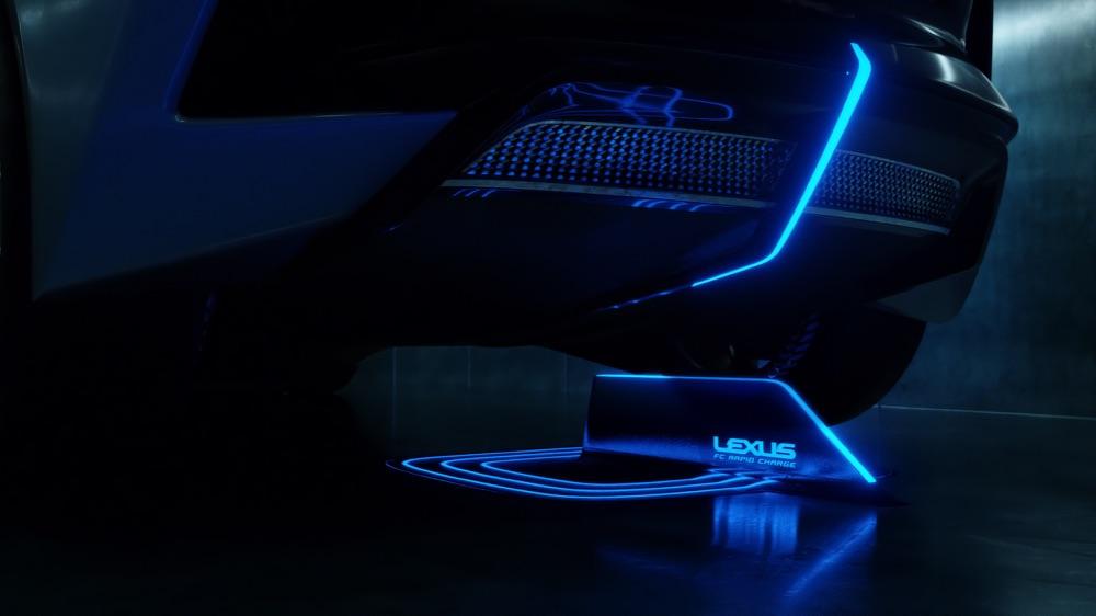 Ricarica wireless di Lexus LF-30 Electrified