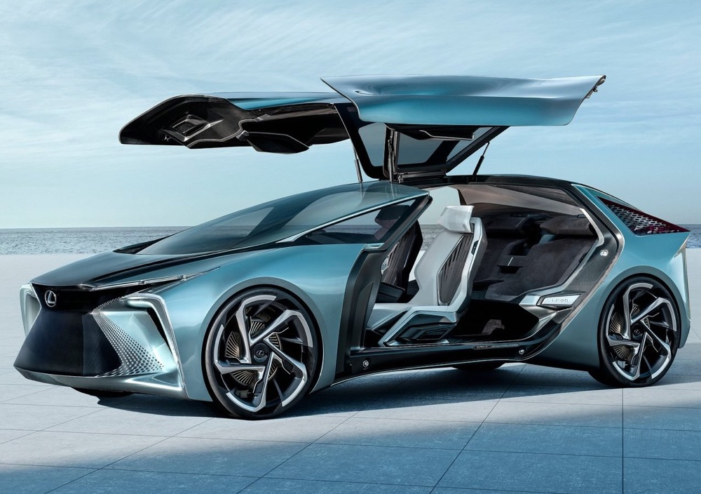 Volante by-wire su Lexus LF-30 Electrified