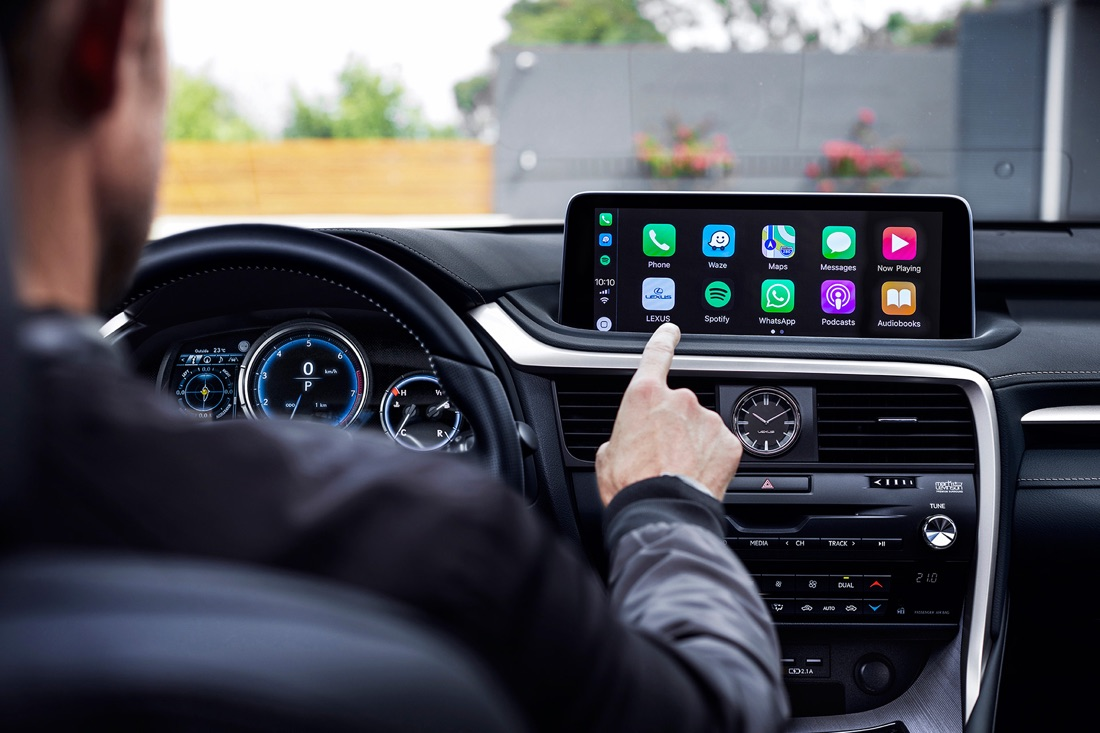 Infotainment di Lexus RX 2020