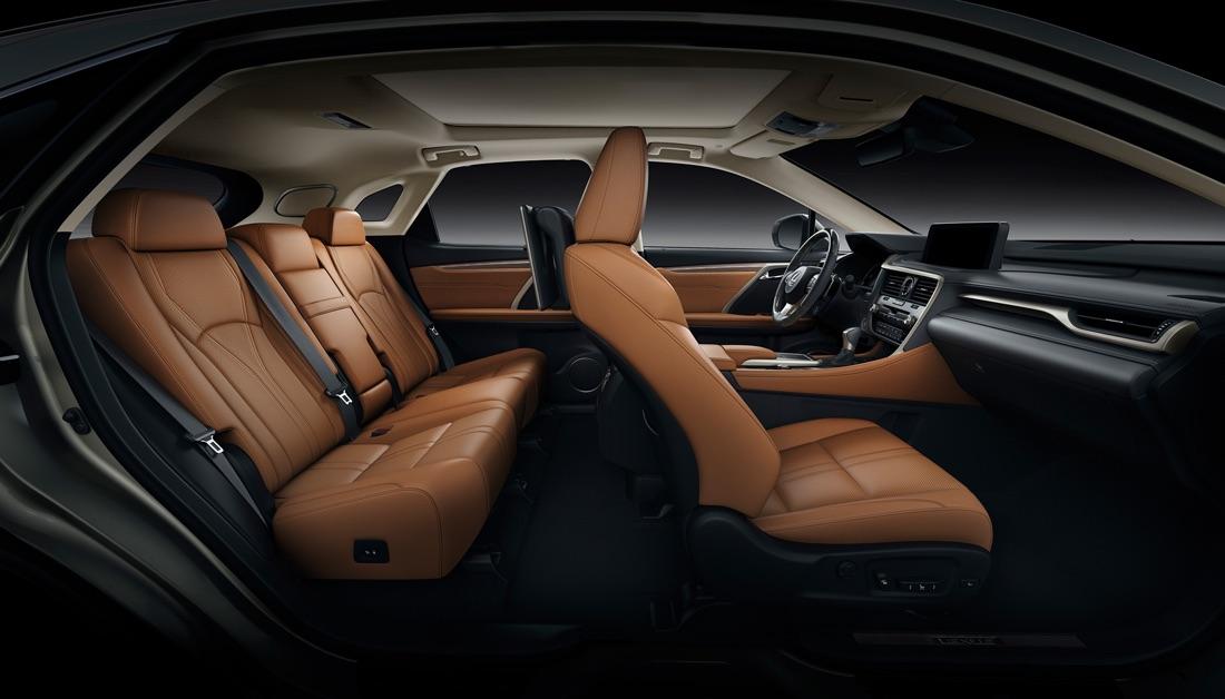 Sedili di Lexus RX 2020