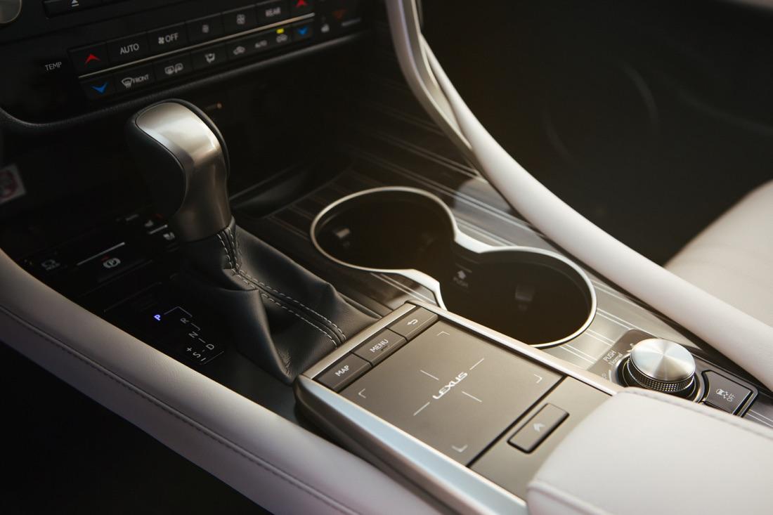 Touchpad di Lexus RX 2020