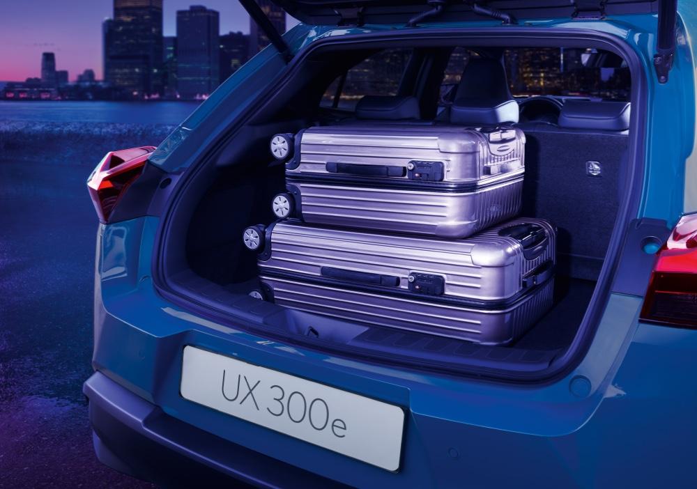 Bagagliaio di Lexus UX 300e