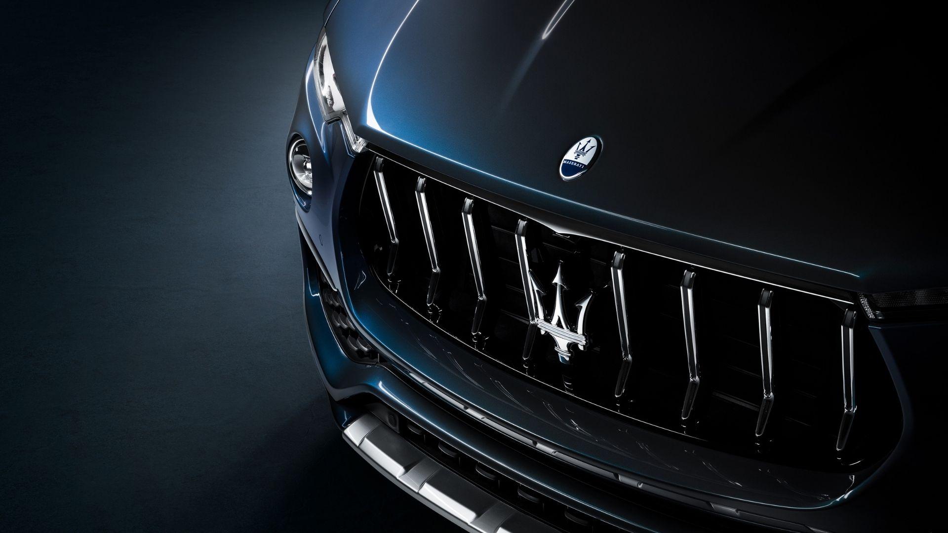 Maserati-Levante-Hybrid-griglia-anteriore