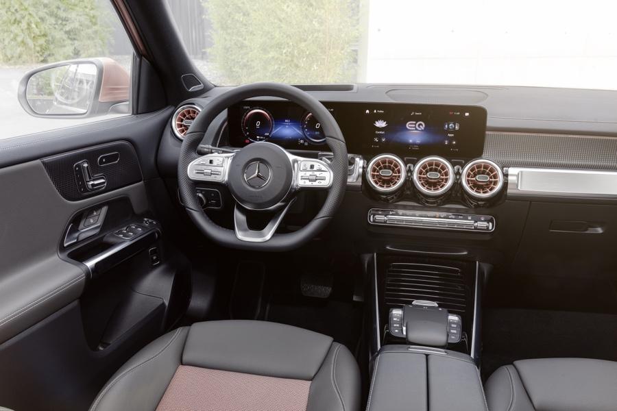 Mercedes EQB interni