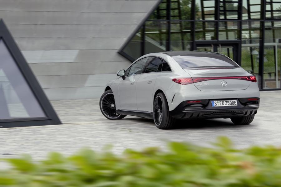 Mercedes EQE autonomia