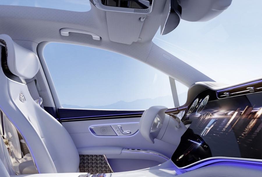 Mercedes-Maybach EQS Suv 4 posti