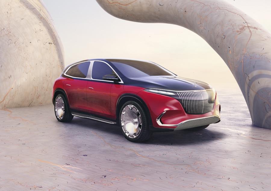 Mercedes-Maybach EQS Suv autonomia
