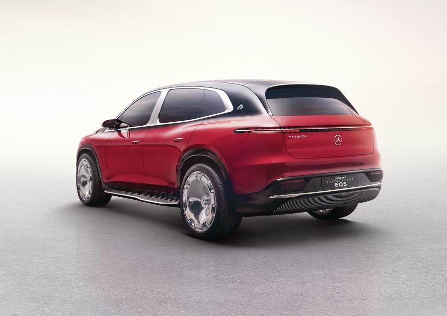 Mercedes-Maybach EQS Suv elettrico