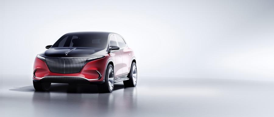Uscita di Mercedes-Maybach EQS Suv