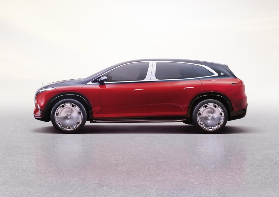 dimensioni di Mercedes-Maybach EQS Suv