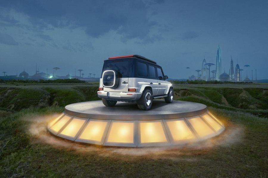 prestazioni Mercedes EQG Concept