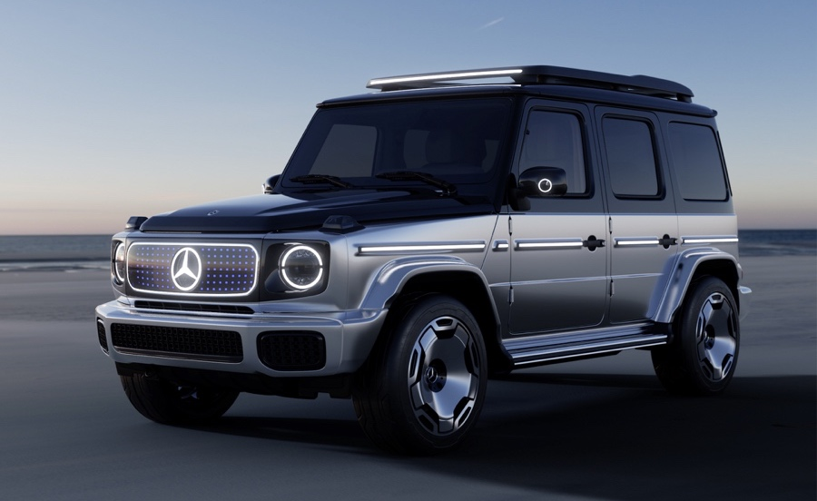 telaio di Mercedes EQG Concept