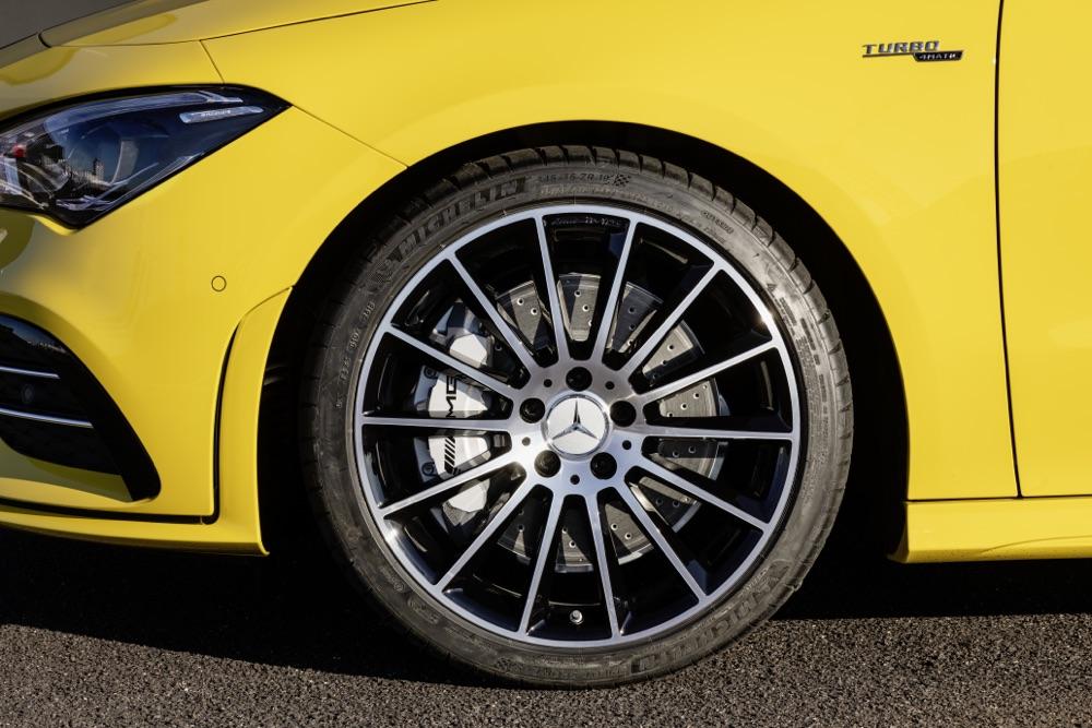 Cerchi di Mercedes AMG CLA 35