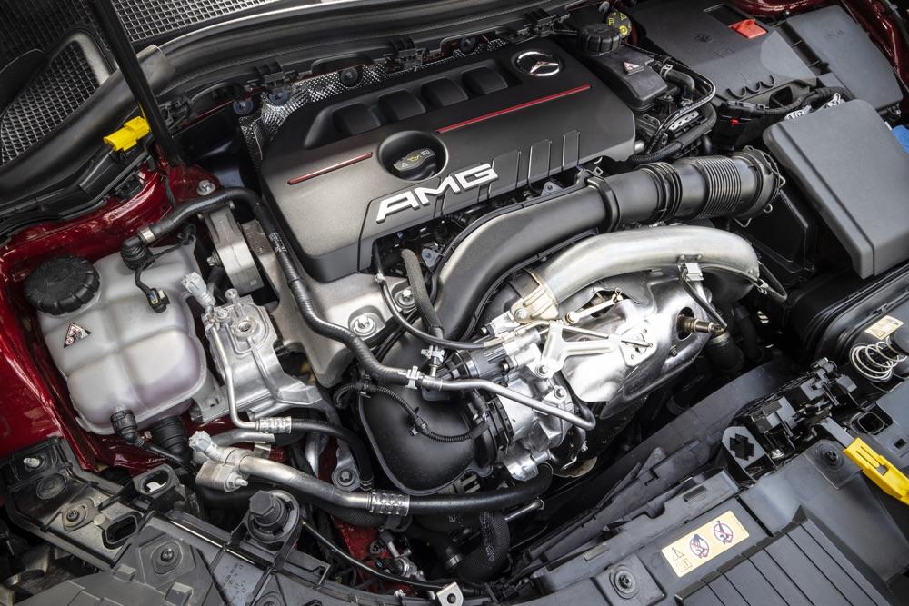 Motore di Mercedes-AMG GLA35