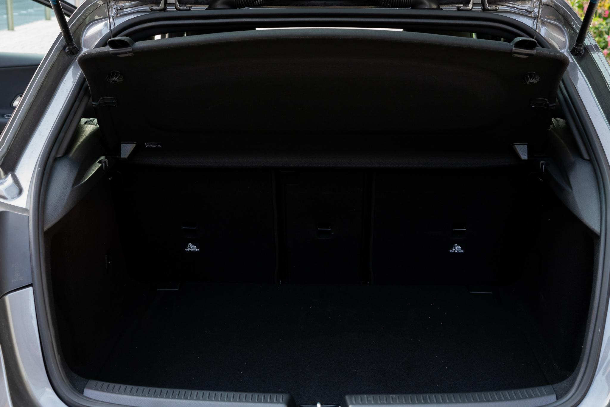 Mercedes Classe A bagagliaio