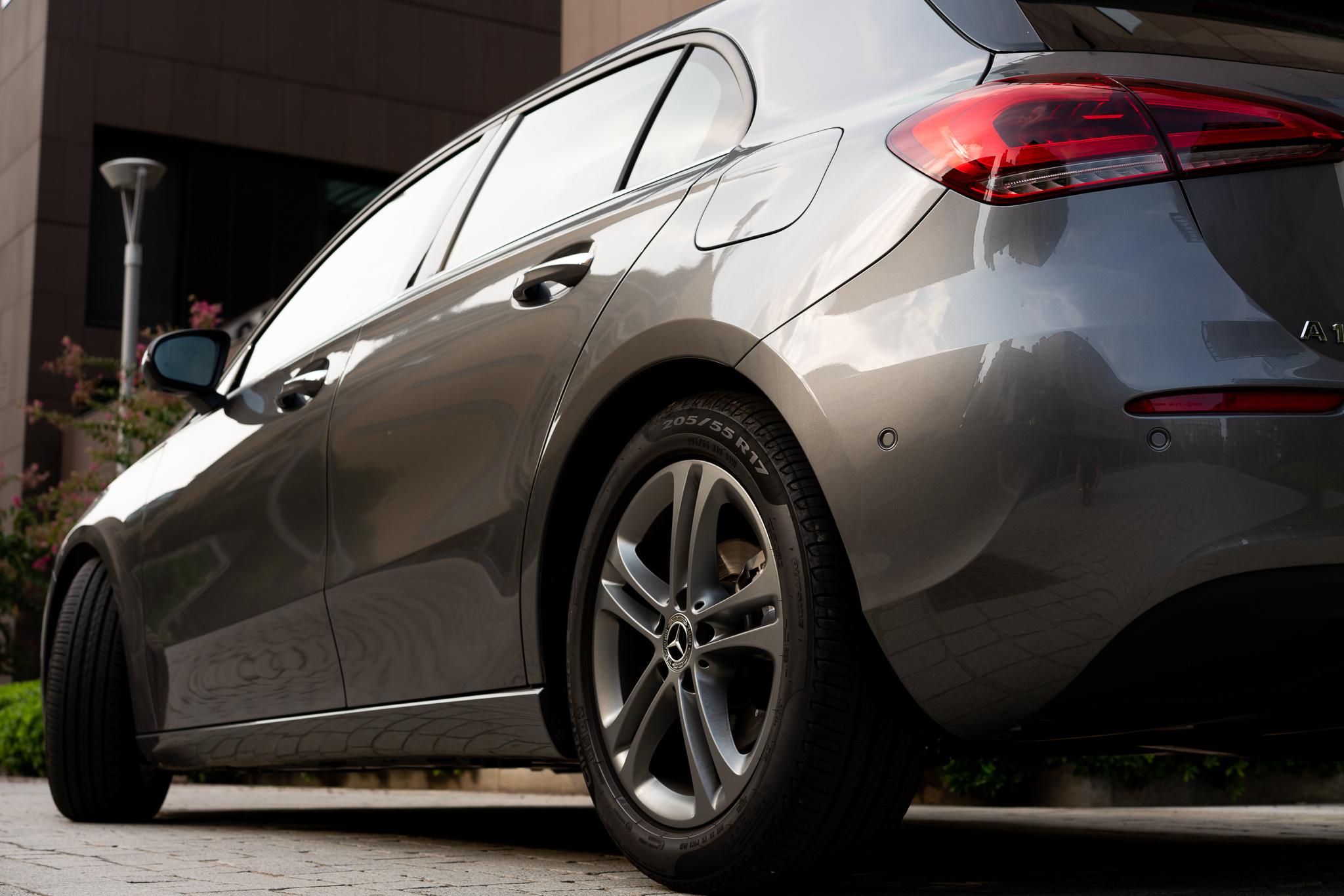 Mercedes Classe A faro posteriore