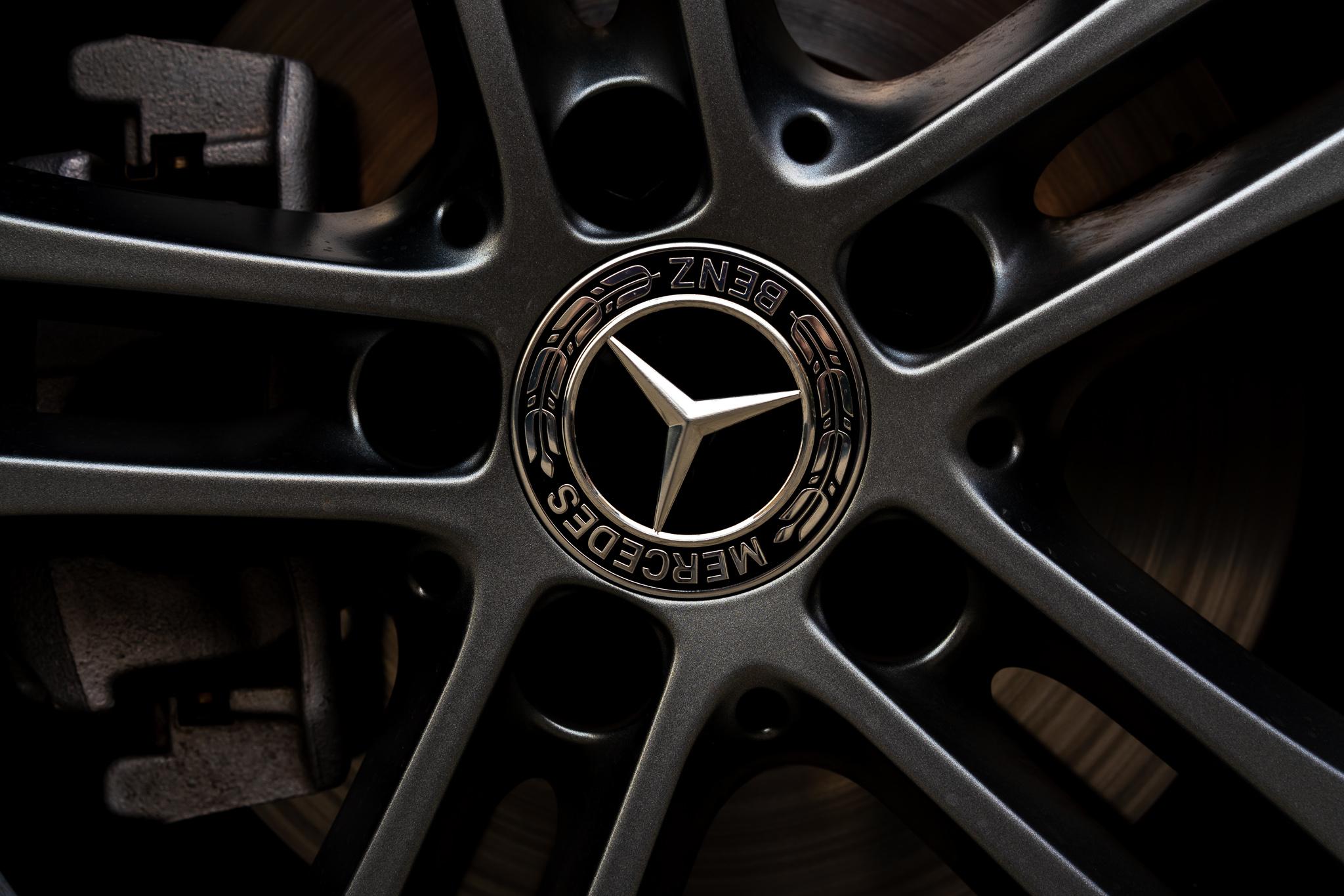 Mercedes Classe A logo cerchio
