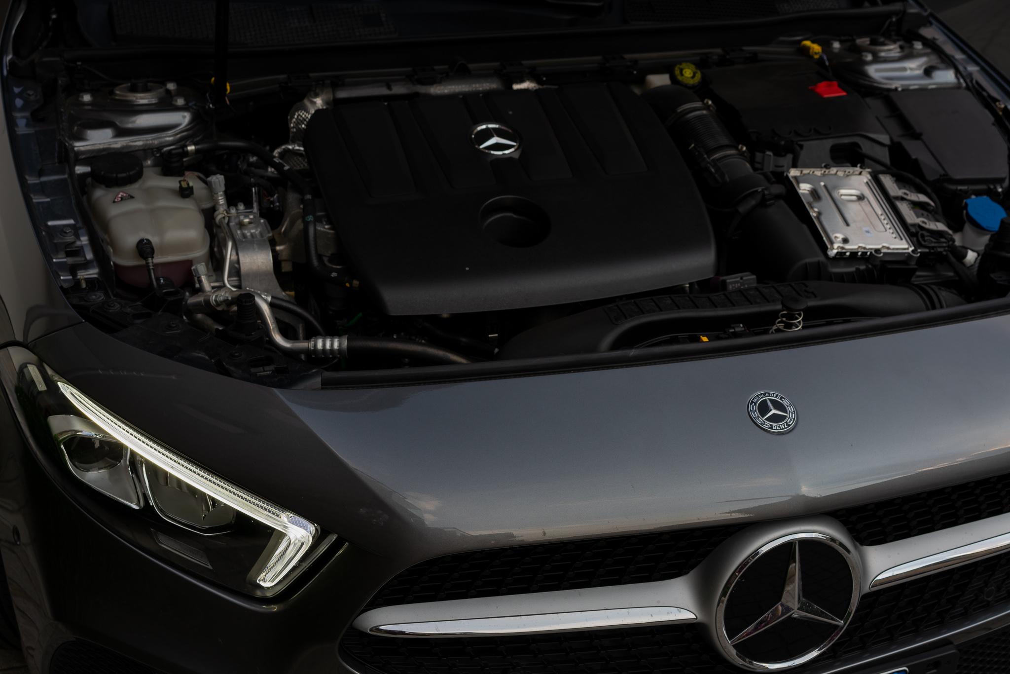 Mercedes Classe A motore