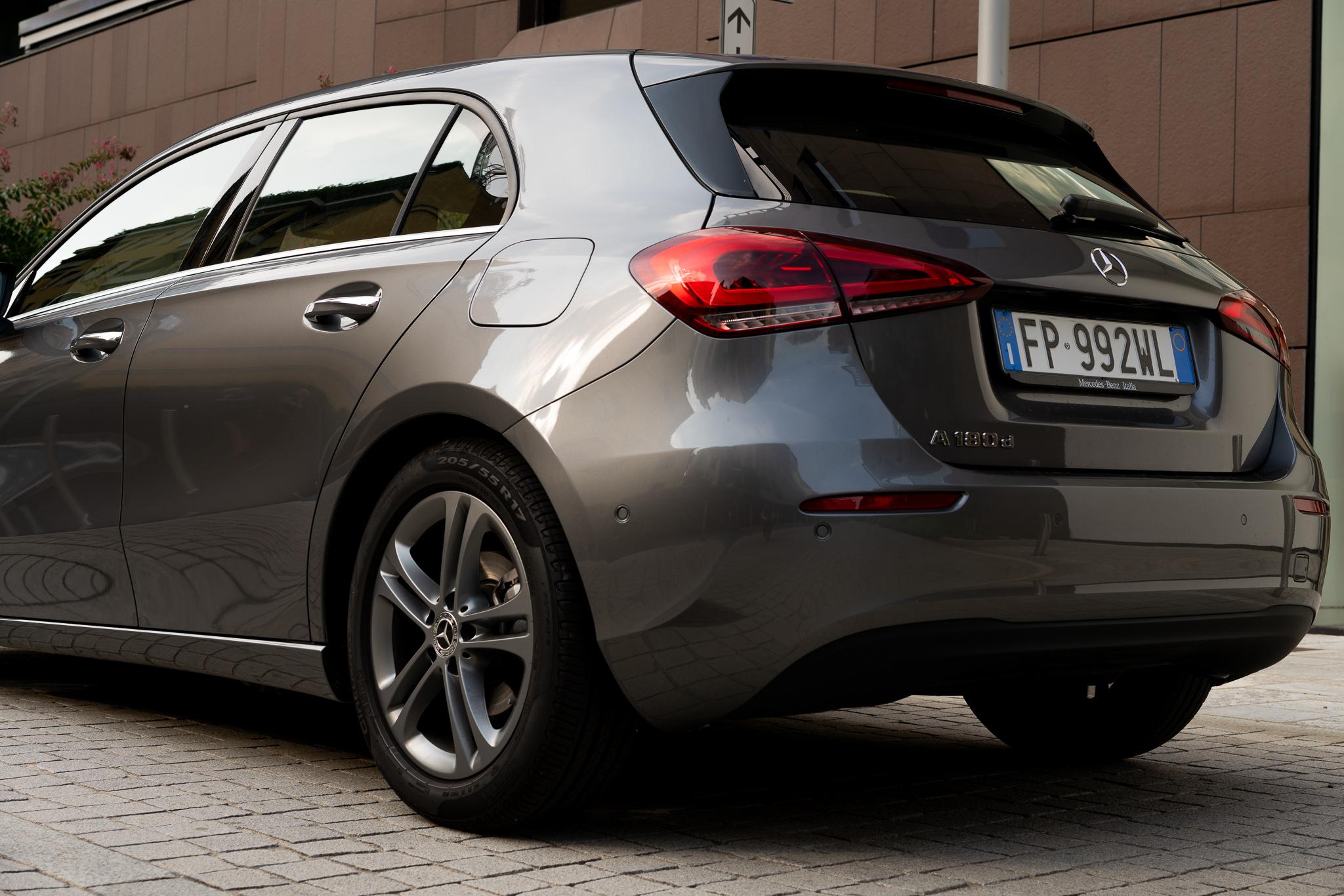 Mercedes Classe A posteriore