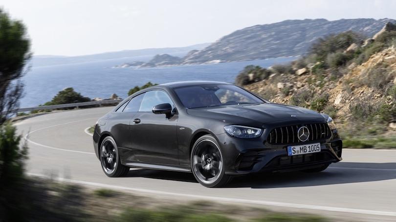 Consumi di Mercedes Classe E coupe restyling