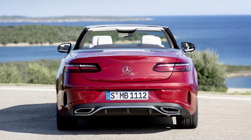 Motori di Mercedes Classe E cabrio