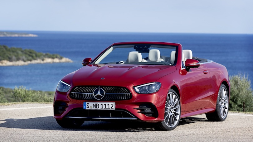 Uscita di Mercedes Classe E cabrio 2020
