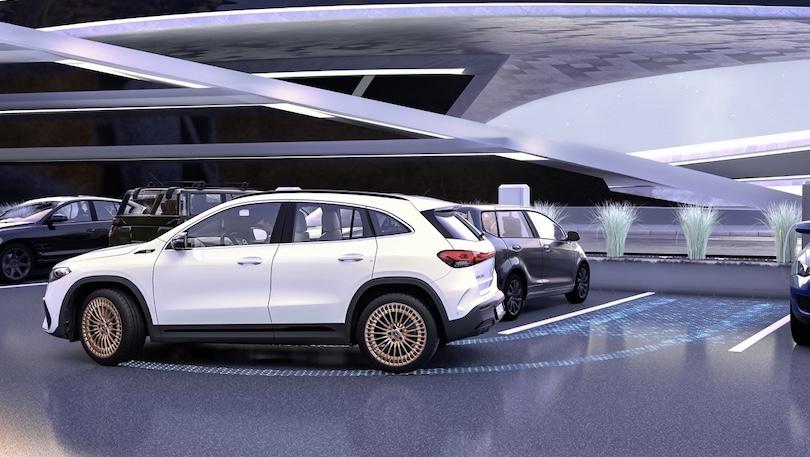 Adas di Mercedes EQA