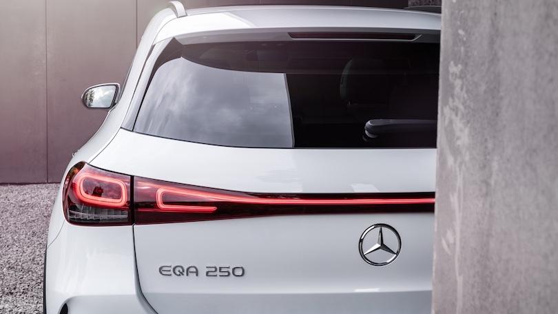 Autonomia di Mercedes EQA