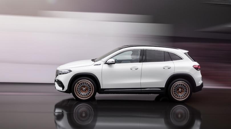Dimensioni di Mercedes EQA