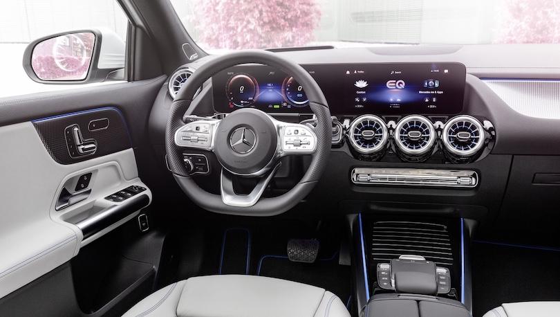 Mercedes EQA MBUX Widescreen