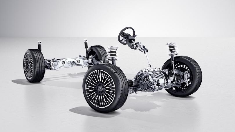 Mercedes EQA trazione anteriore