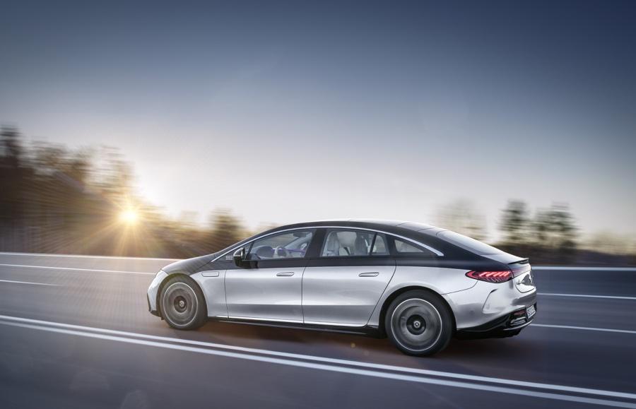 Autonomia di Mercedes EQS
