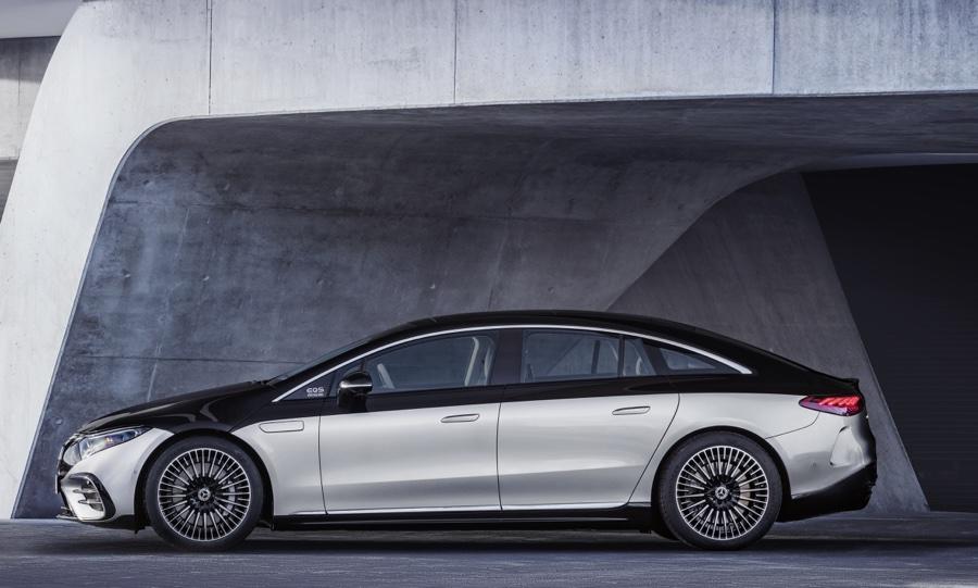 Dimensioni di Mercedes EQS