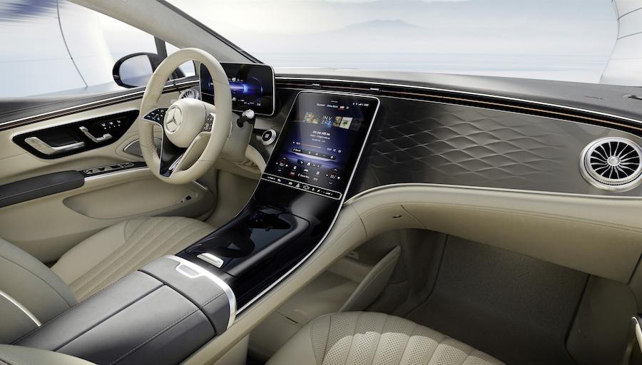 MBUX Zero Layer Mercedes EQS